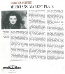 Article, 1991, Illustrated London News