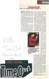 Article, 1993, Time Out
