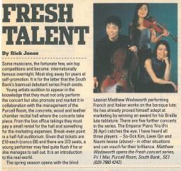 Article, 2002, Evening Standard