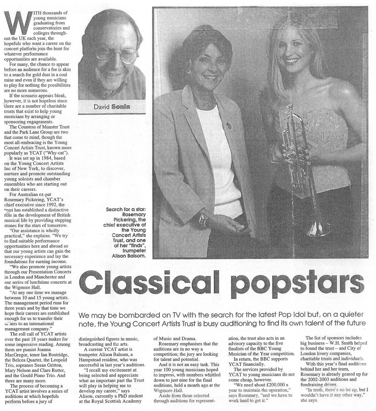 Article, 2002, Ham and High