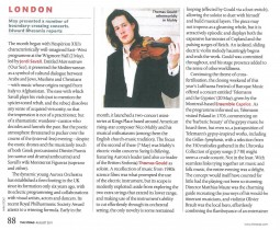Article, 2011, The Strad