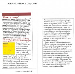 CD Review, 2007, Gramophone