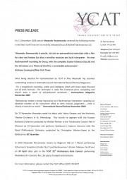 Press-Release,-2009,-YCAT