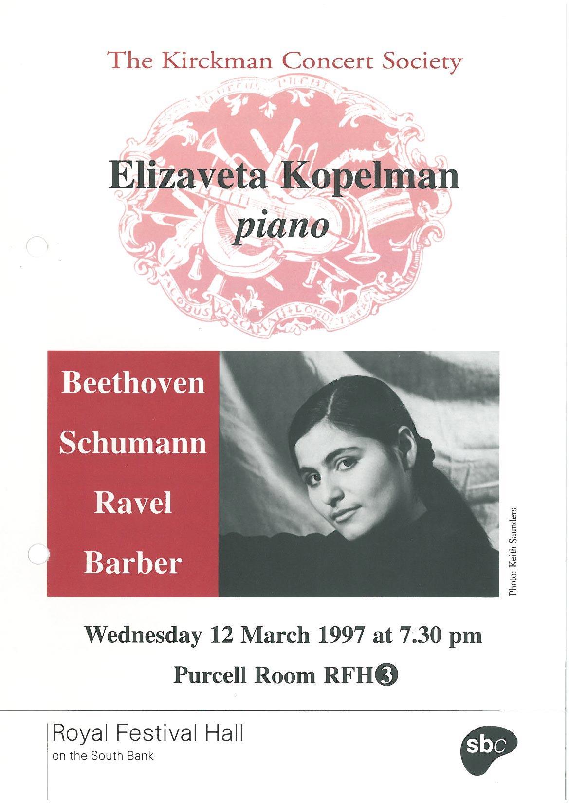 Programme,-1997,-Kirckman-Concert-Society