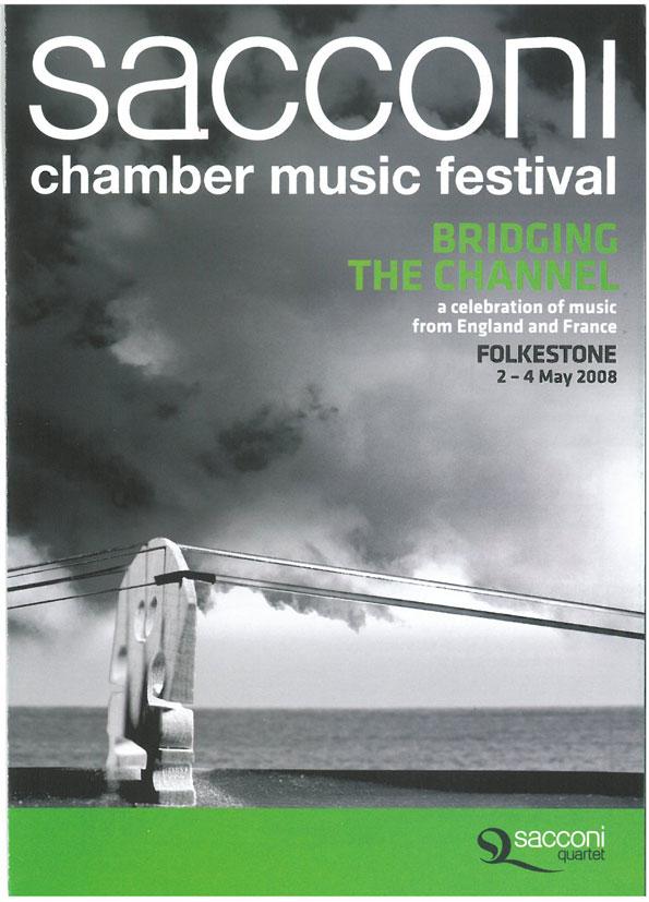 Programme, 2008, Sacconi Chamber Music Festival