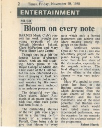 Review, 1985, The Times