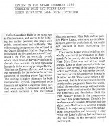 Review, 1986, The Strad