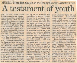 Review, 1989, Purcell Room