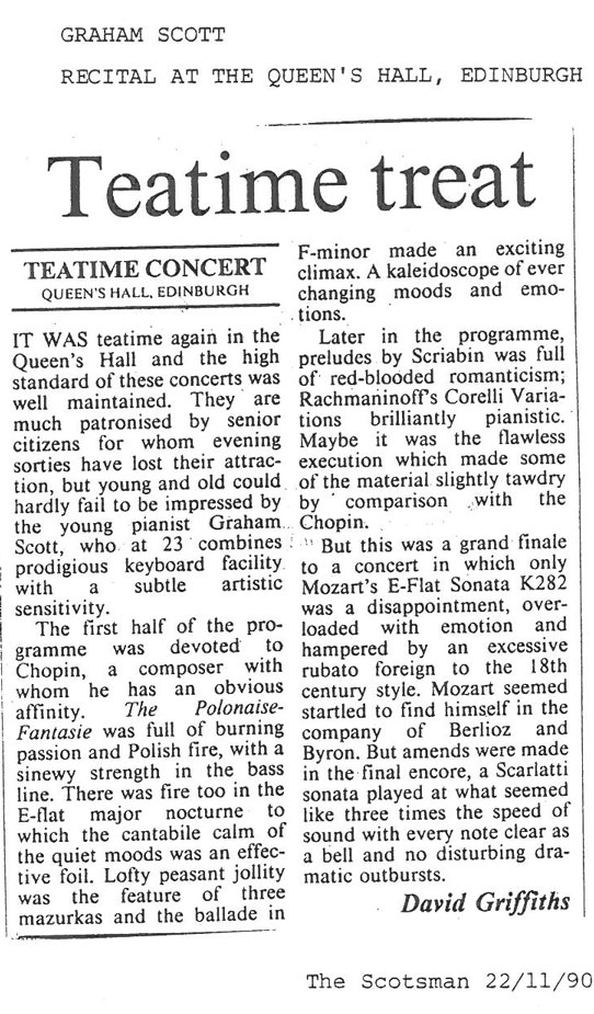 Review, 1990, The Scotsman