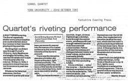 Review, 1991, Yorkshire Evening Press