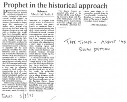 Review, 1993, The Times, Royal Albert Hall