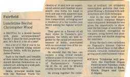 Review, 1996, Croydon Advertiser