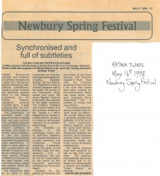 Review,-1998,-Newbury-Spring-Festival