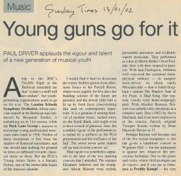 Review, 2002, Sunday Times