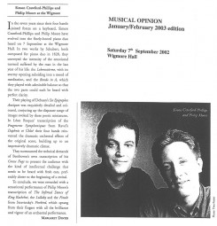 Review,-2003,-Musical-Opinion