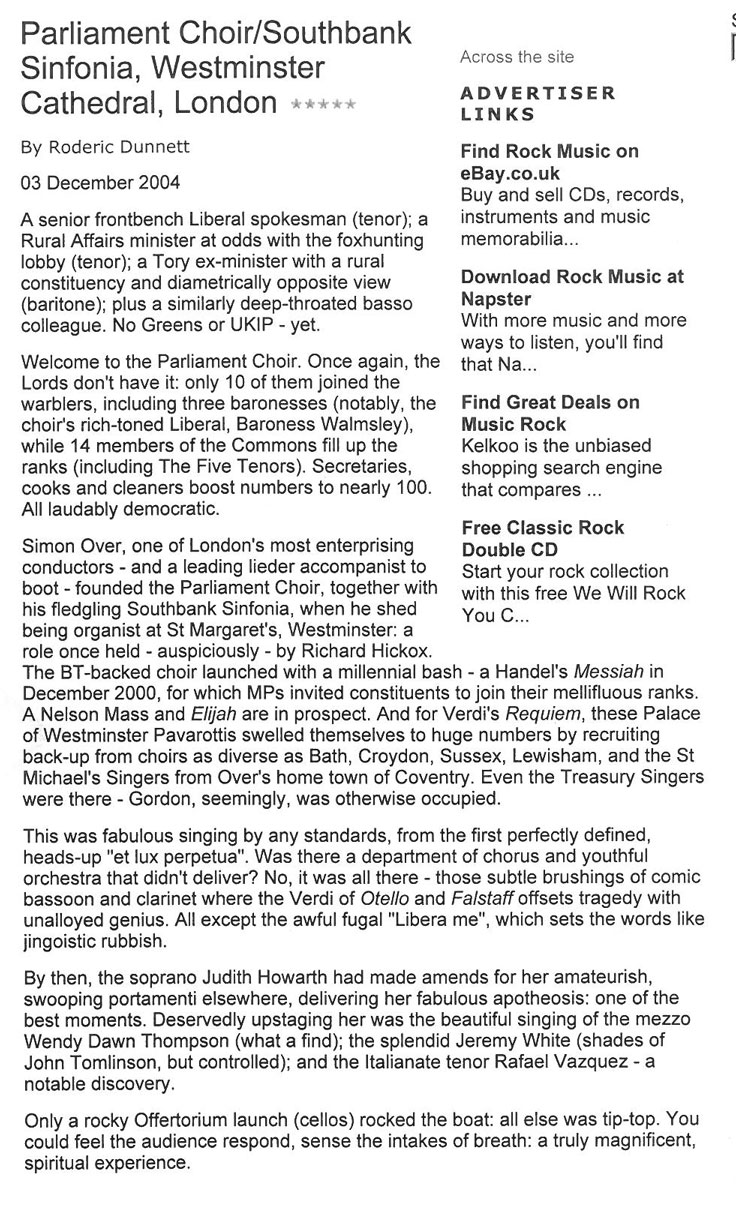 Review, 2004, The Independent