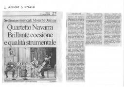 Review, 2006, Il Giornale di Vicenza