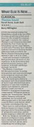 Review, 2007, Evening Standard