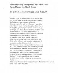 Review,-2009,-Evening-Standard