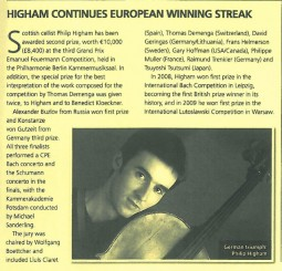 Review, 2010, Classical Music Magazine