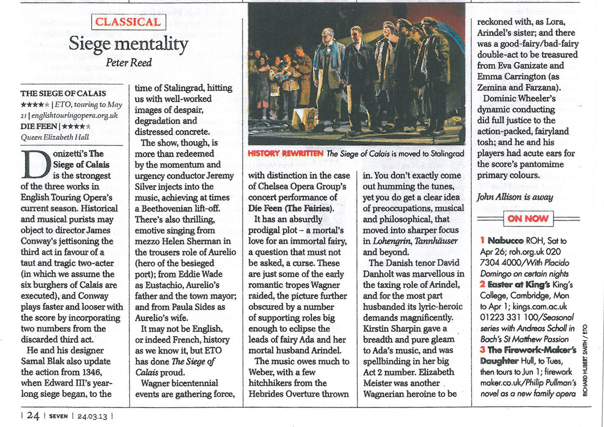 Review, 2013, The Telegraph