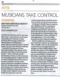 Review, Evening Standard