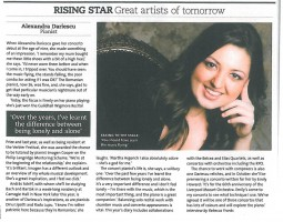 Rising Star, BBC Music Magazine