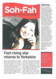 Ryedale Festival Magazine, 2011