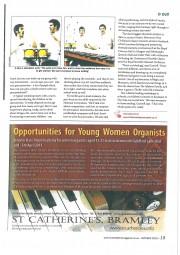 Article, 2010, Music Teacher Magazine, p3