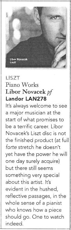 CD Review, 2006, Gramophone