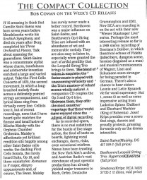 CD review, 1998, The Independent