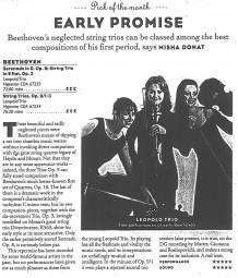 CD review, 1999, BBC Music Magazine