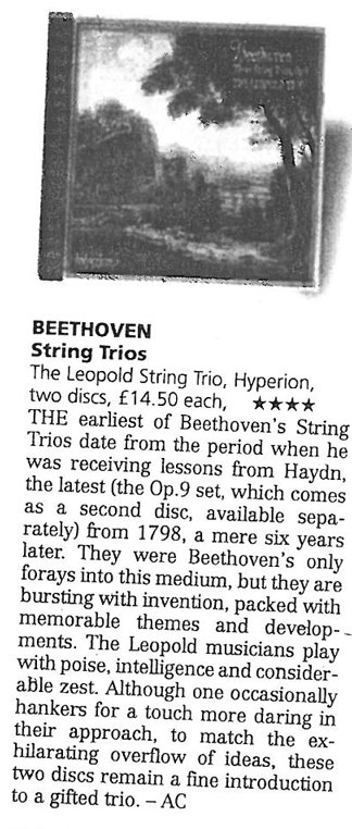 CD review, The Scotsman