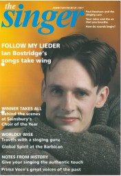 Cover, 1997, The Singer Magazine