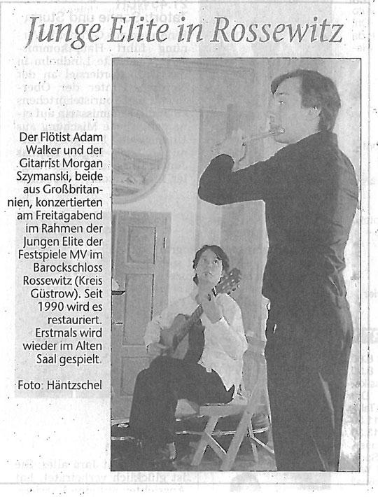 Feature, 2010, Ostsee-Zeitung
