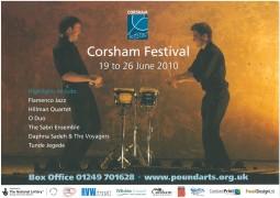 Leaflet, 2010, Corsham Festival