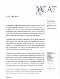 Press Release, 2008, YCAT