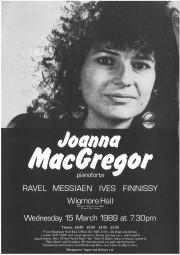 Programme, 1989, Wigmore Hall