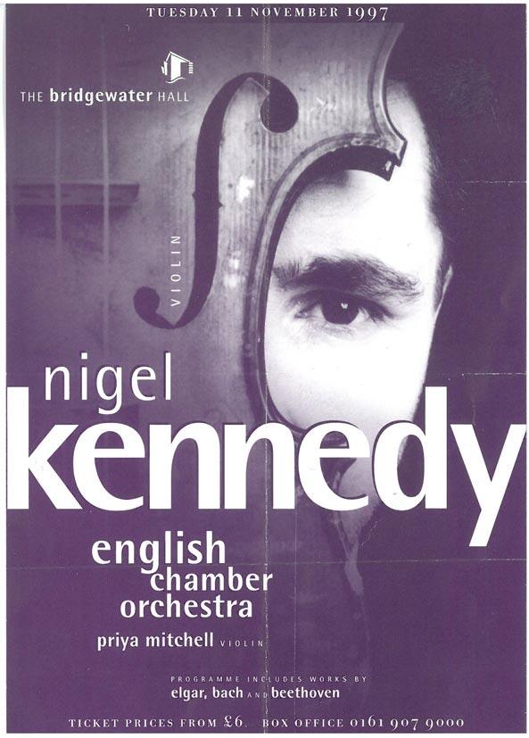 Programme, 1997, Bridgewater-Hall