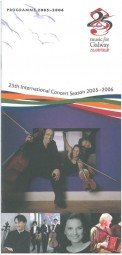 Programme, 2005, Music for Galway