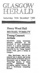 Review, 1985, Glasgow Herald