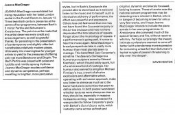 Review, 1987, Music and Musicians