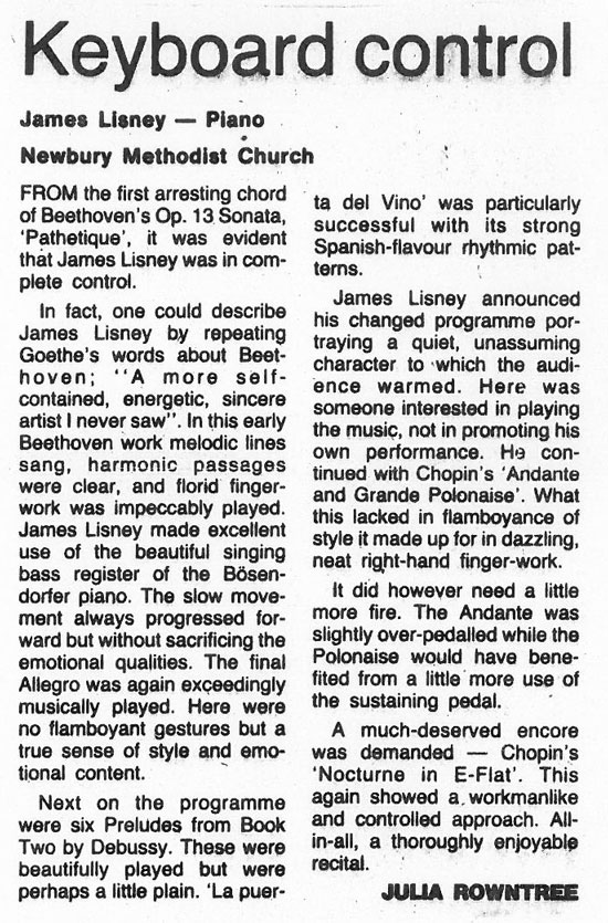 Review, 1989, Newbury Weekly News