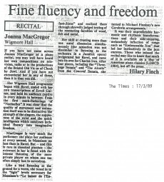 Review, 1989, The Times