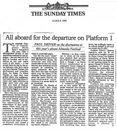 Review, 1991, The Sunday Times (2)