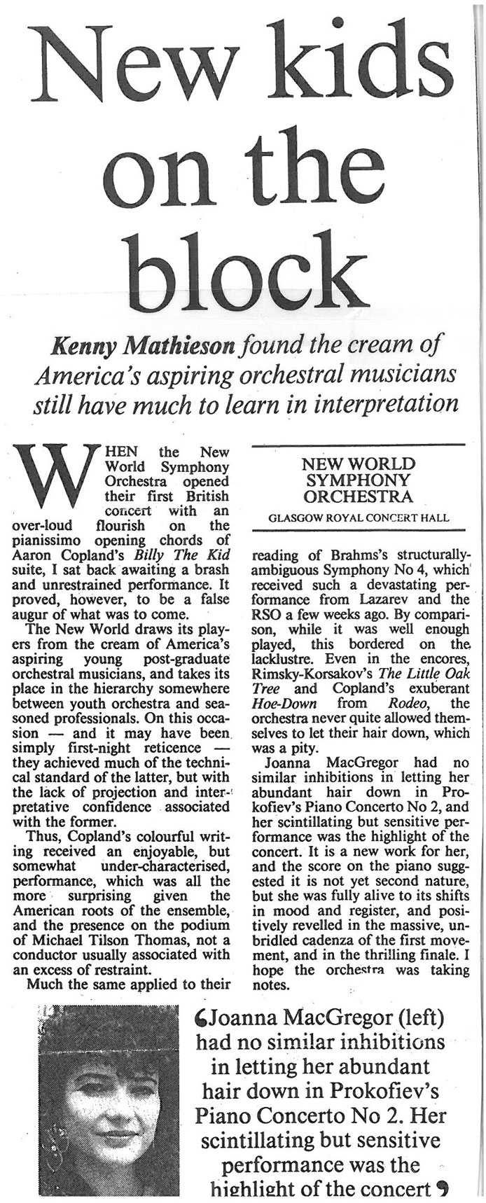 Review, 1992, The Scotsman