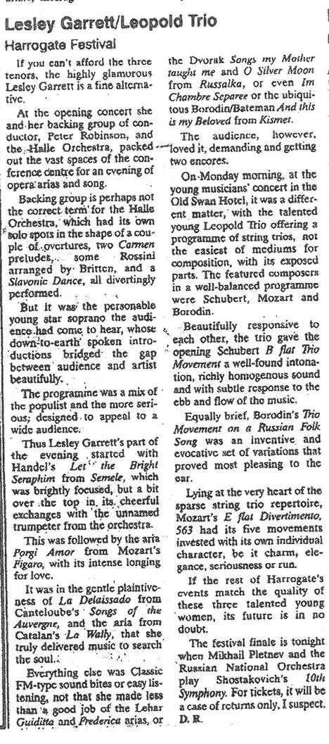 Review, 1996, Darlington and Stockton Times