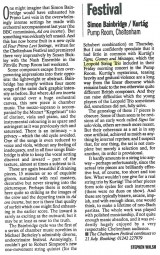 Review, 1996, The Independent