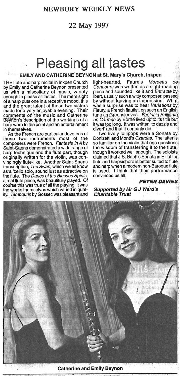 Review, 1997, Newbury Weekly News