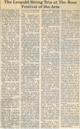Review, 1999, Ross Gazette